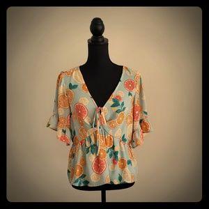 June & Hudson lemon blouse